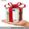 Gourmet shop gift vouchers variable