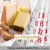 Cheese random subscription box 2,2 kg