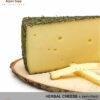 HERBAL CHEESE - MILD/SPICY TASTE - medium-hard cheese